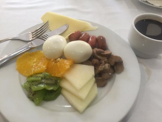 Hotel San Cristobal: Loved the Daily Breakfast