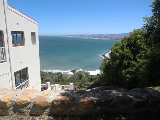 Gordon's Bay, Sør-Afrika: Aussicht von der Dachterrasse