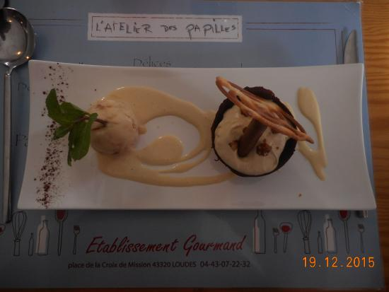 Loudes, Γαλλία: un dessert