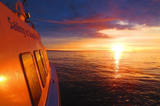 Sailing in Skagafjordur