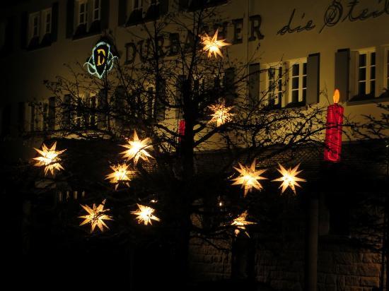 Weihnachtsbeleuchtung Forum.Weihnachtsbeleuchtung An Der Genossenschaft Picture Of Durbacher