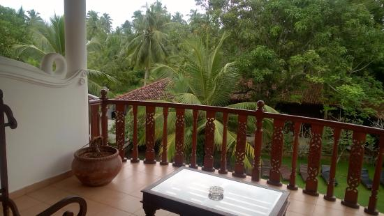 Panchi Villa: Вид с балкона