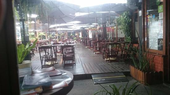Casa Da Picanha Grill: Área externa do restaurante.