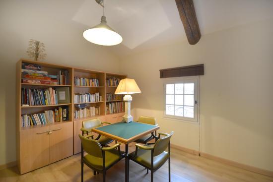 salle de jeux/bibliotheque