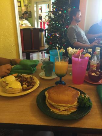Super petit déjeuner américain