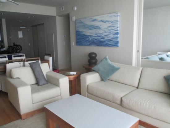W Fort Lauderdale Suite Livingroom