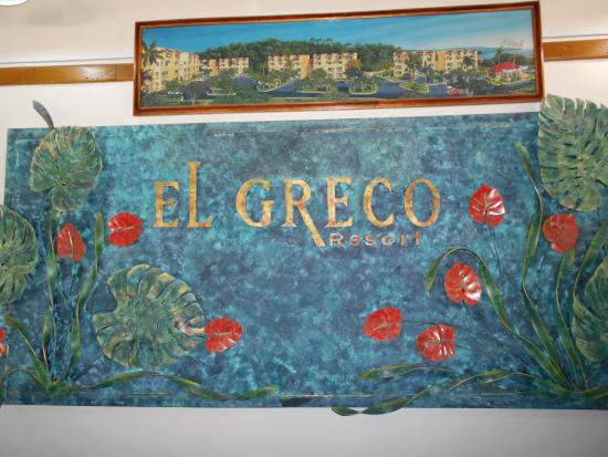El Greco Resort: Hotel Check In/ Office