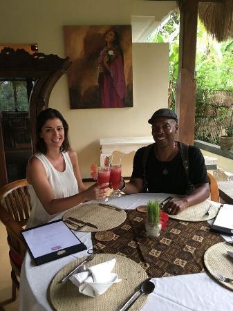 Nandini Jungle Resort & Spa Ubud: cheers