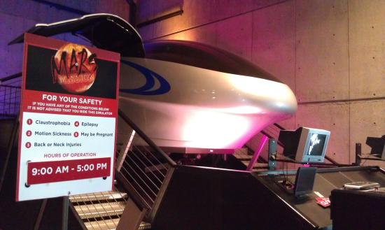 Huntsville, AL: Included with your ticket a trip to Mars!