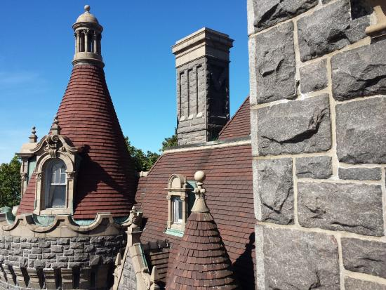 Boldt Castle and Yacht House: From the Top Floor Balcony