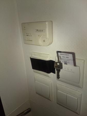 Kings Hotel: Broken aircon button