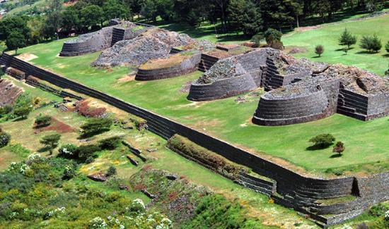 Tzintzuntzan, México: arqueología