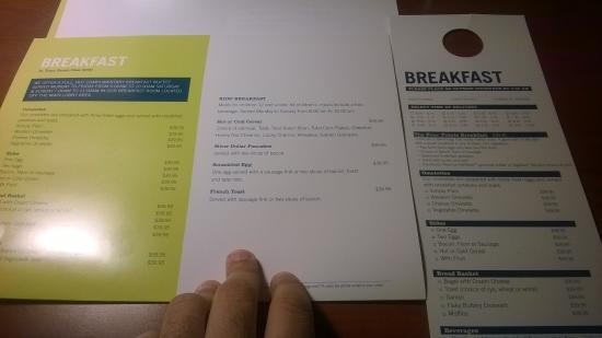Image Result For Four Points Sheraton Room Service Menu