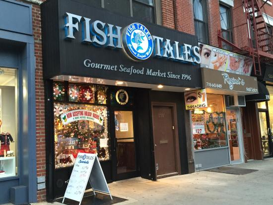 Fish tales brooklyn restaurant reviews phone number for Fish tales restaurant