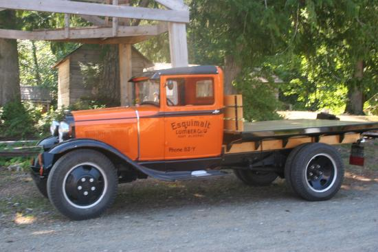 Port Alberni, Kanada: Very nice old truck
