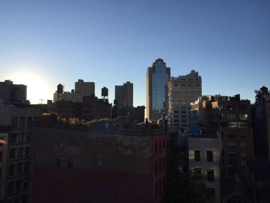The Roxy Hotel Tribeca: view from a room