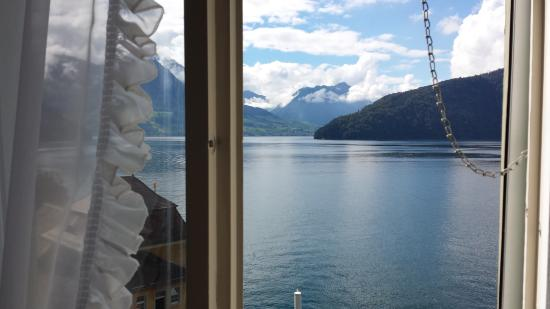 Hotel Terrasse Am See: Another view from our room.
