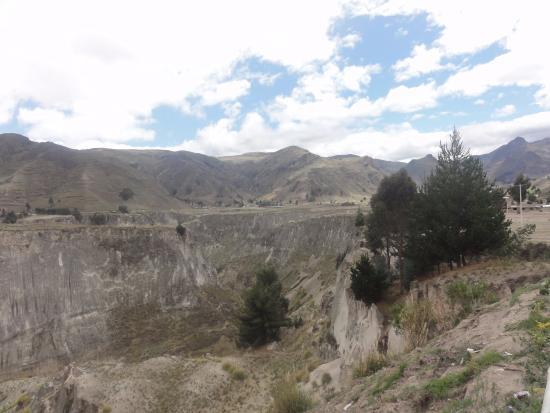 Pujili, الإكوادور: Canon del Rio Toachi