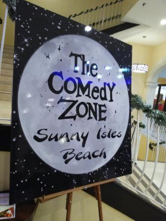 Sunny Isles Beach, FL: Comedy zone in #Miami. Fantastic. Now we are talking....!