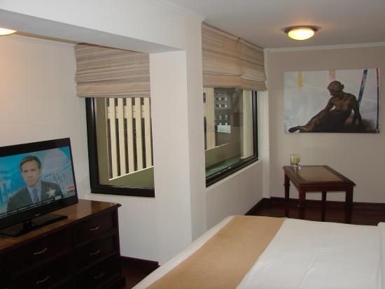 room separation - picture of parque del lago boutique hotel, san