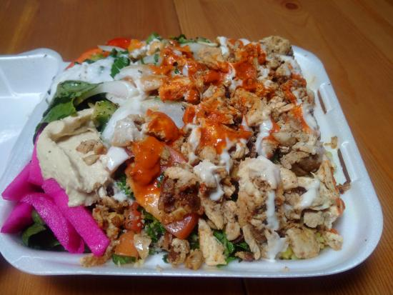 Chicken platter picture of ali baba 39 s restaurant for Ali baba cuisine