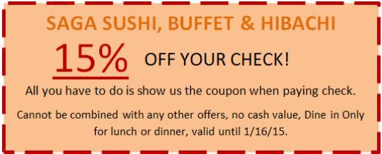 image regarding Hibachi Grill Supreme Buffet Coupons Printable named Amber buffet hibachi discount coupons - Hawaiian rolls discount codes 2018