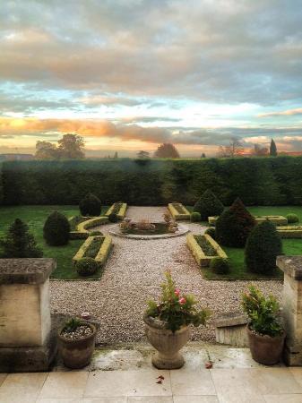 Domaine Champagne Ployez-Jacquemart : The garden view