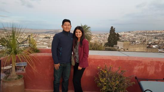 Riad Layalina Fez: Balcony view
