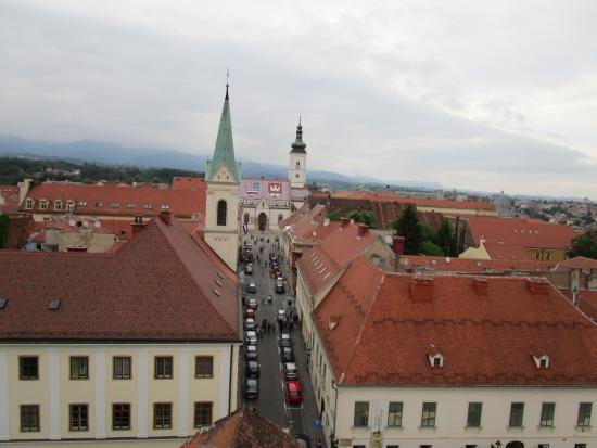 Lotrscak Tower: st marks