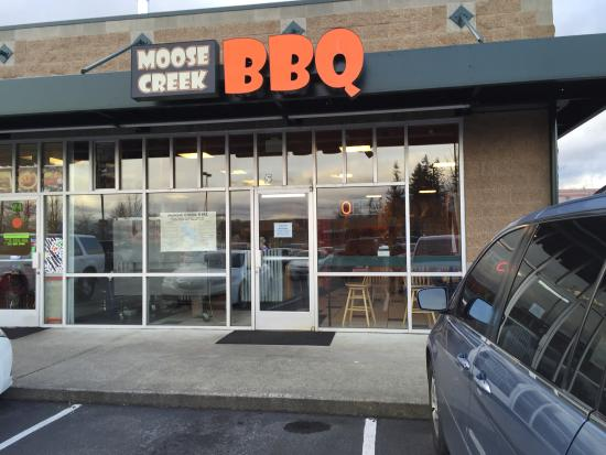 Arlington, WA: Exterior of restaurant