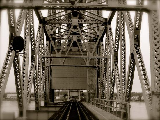 Buzzards Bay, MA: Cape Cod Canal Railway Bridge