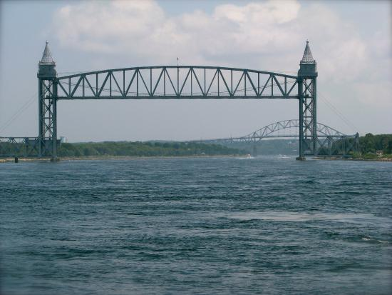 Buzzards Bay, Массачусетс: Cape Cod Canal Railway Bridge