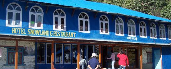 Ghorepani, Nepal: Hotel Snowland