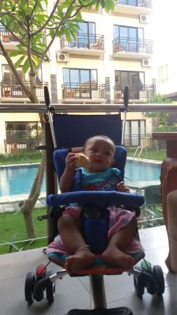 The Aroma's of Bali Hotel & Residence: 20150210_082032_large.jpg