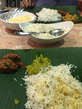 Normal North Indian food with abnormal price