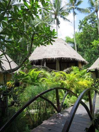 Mambal, Indonesia: Our room from the outside
