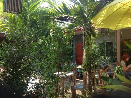 Jaidii Guesthouse: Belle terrasse