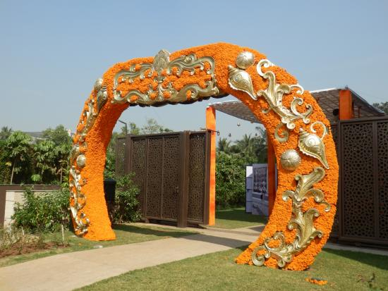 Hotel decoration for wedding reception picture of jw marriott jw marriott mumbai sahar hotel decoration for wedding reception junglespirit Image collections