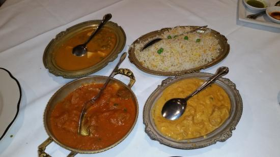 New Delhi Restaurant : Poor presentation