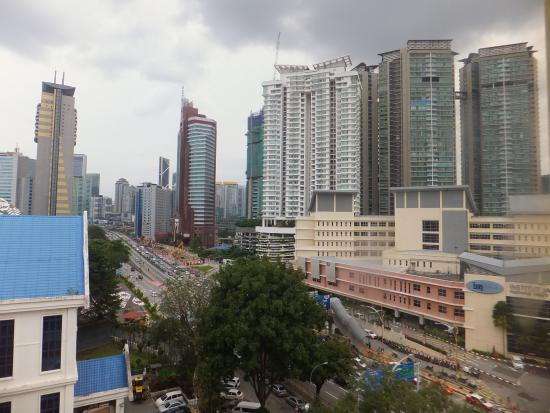 Hotel Putra KL : View from our bedroom