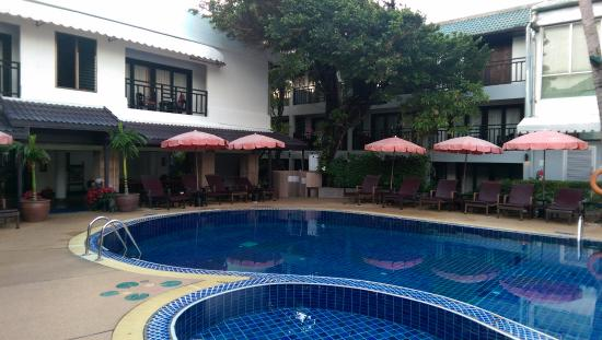 patong bay garden hotel reviews. patong bay garden resort: pool side view hotel reviews