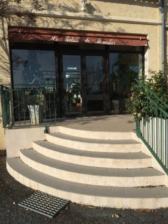 Monestier, Frankrijk: L ENTREE DU RESTAURANT