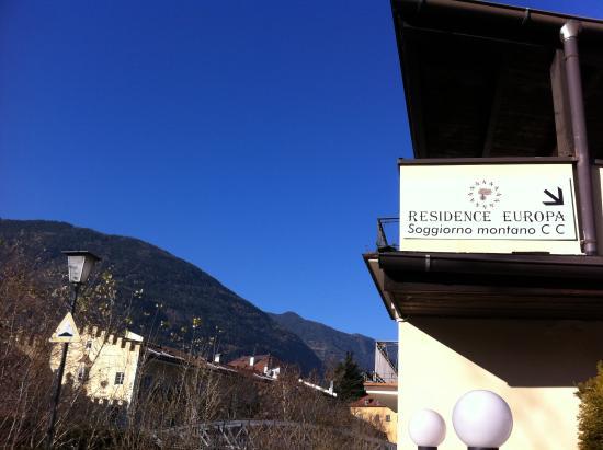 Vista dal cancello d\'ingresso - Foto di Residence Europa Soggiorno ...