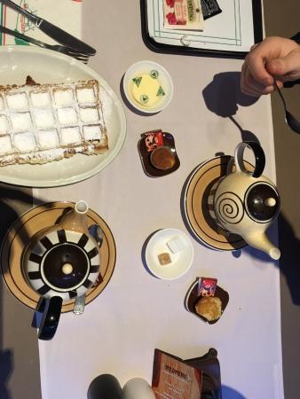 Verdi: Tè caldo in un posto piacevole