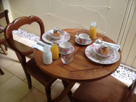 South Beach Bed and Breakfast: Breakfast