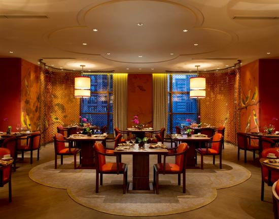 Zijin Mansion (Waldorf Astoria Beijing): Main dining area