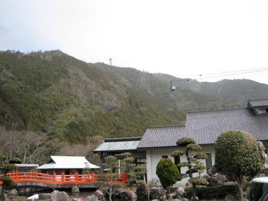 那賀町, 徳島県, ロープウェイ
