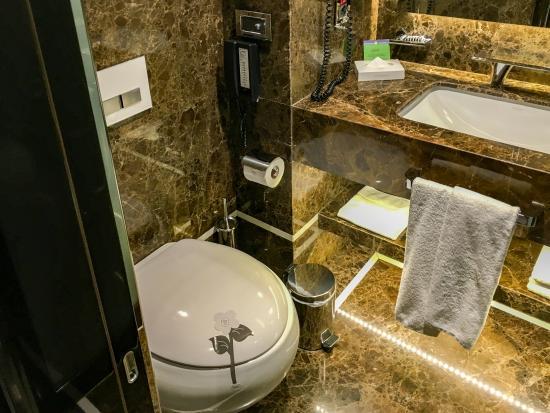 De badkamer - Picture of Biz Cevahir Hotel Istanbul, Istanbul ...