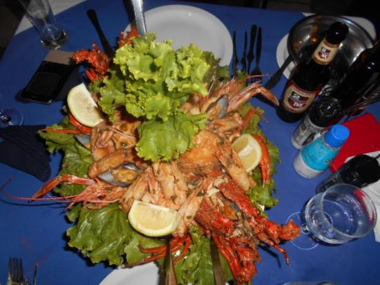 Sagres Shellfish Restaurant Seafood Dish Mariscada Para
