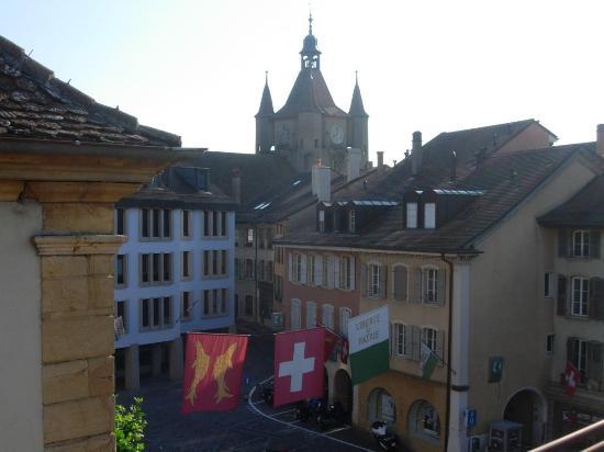 Hotel Chasseur: Aussicht von unserem Zimmer